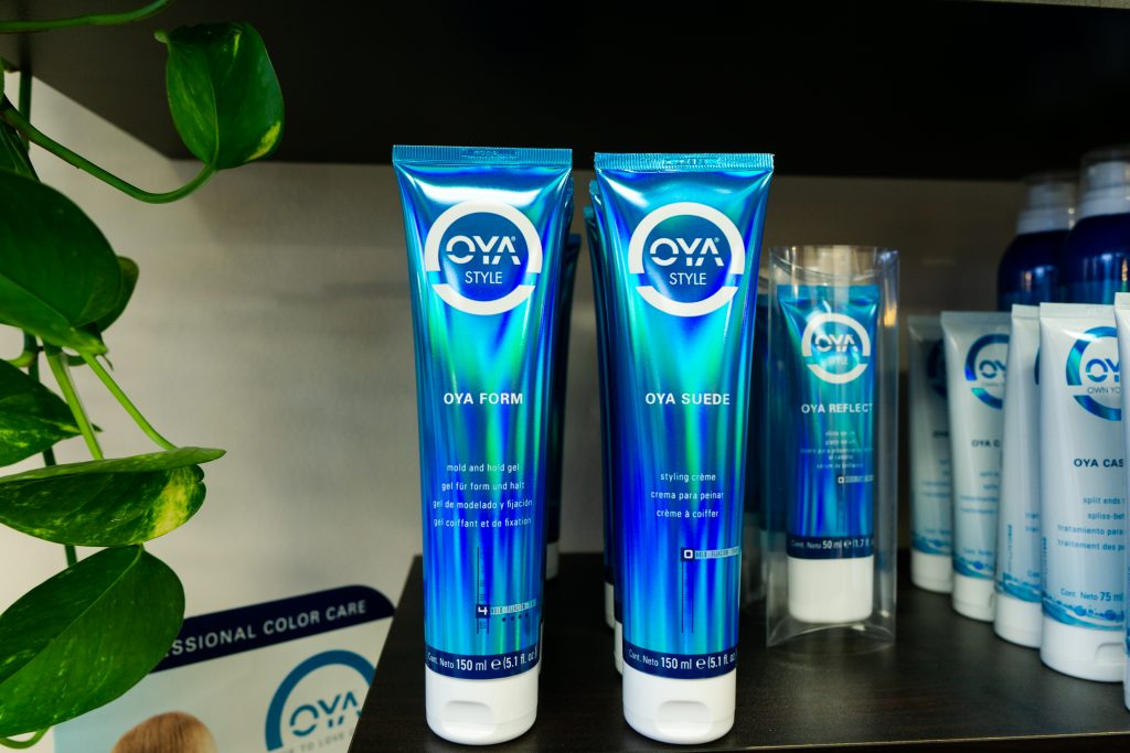 OYA Product Display | Studio Trio Hair Salon
